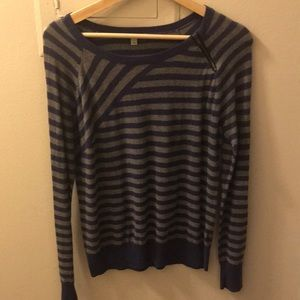 Halogen striped sweater